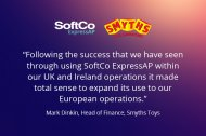 Smyths Toys Expand Use of SoftCo ExpressAP into European Operations